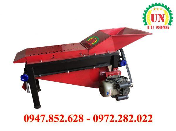 máy bóc vỏ ngô 5 trục quạt gió lớn