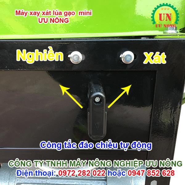 máy xat xát lúa gạo 3 tác dụng sàng rung lọc cát sạn 3 cấp ưu nông